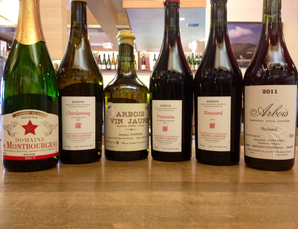 Some Jura Wines Available at Paul Marcus Wines