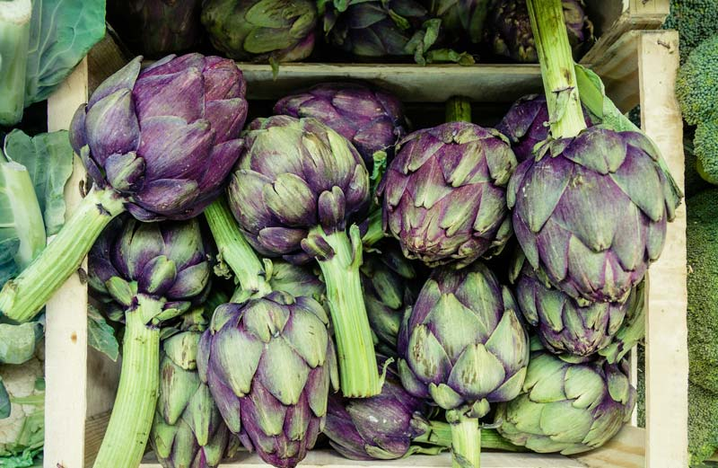 Artichokes - hard-to-pair spring vegetables